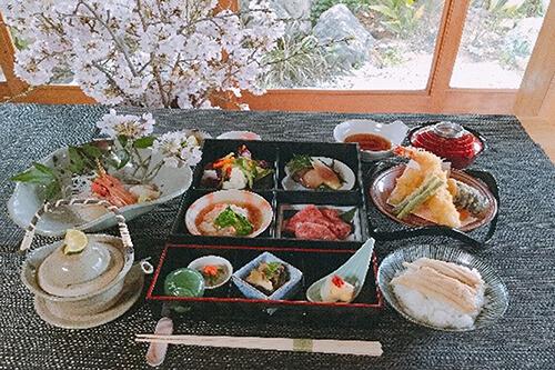 松花堂こまつコース 7,000円(税サ込)
