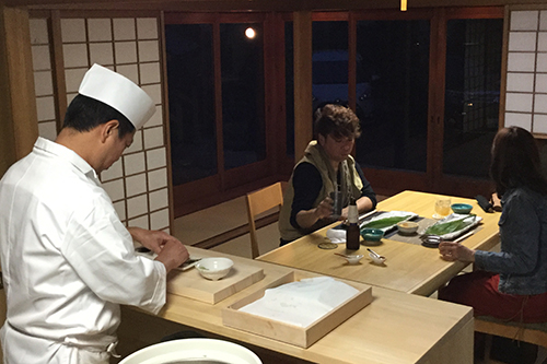 Special Sushi Course with a Private Sushi Counter ¥15,000  Limited for 1 group only per day / from 2 to 8 persons / Advance Reservation Required