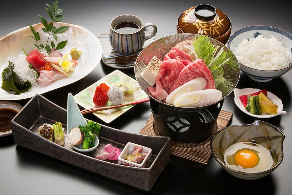 Sukiyaki Lunch ¥4,200