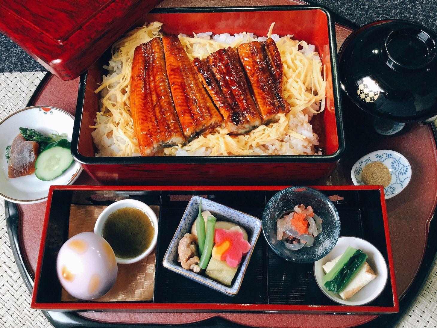Unagi Jyu (Eel bowl) ¥3,500