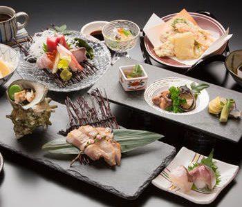 Kaiseki Lunch ¥6,800