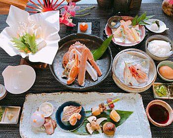 Kani (crab) Kaiseki Course ¥12,000